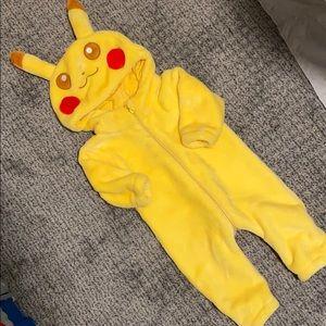 Other - Infant Pikachu fleece romper
